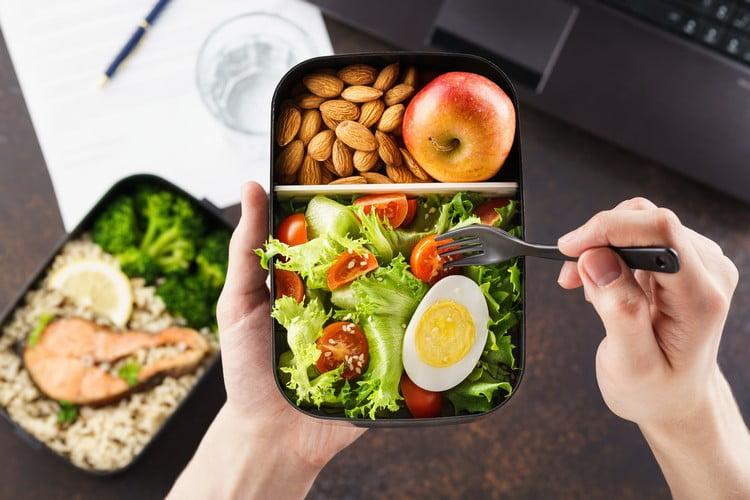 ideias de comida fitness com ovo