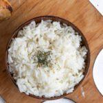 como congelar marmita com arroz e feijão
